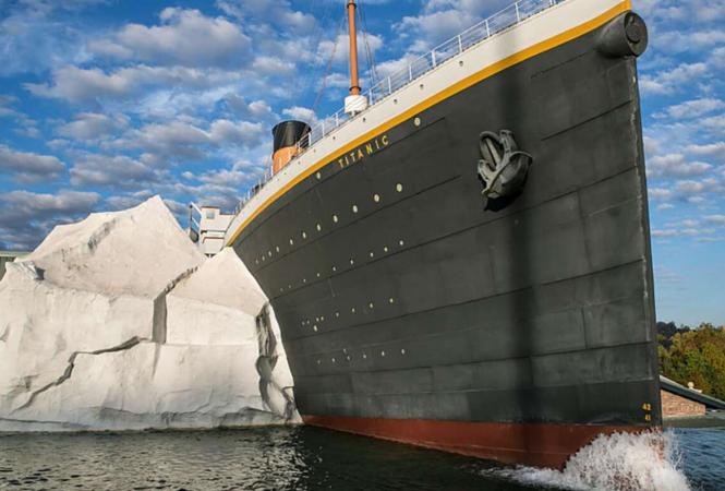 """музей """"Титаника"""""""