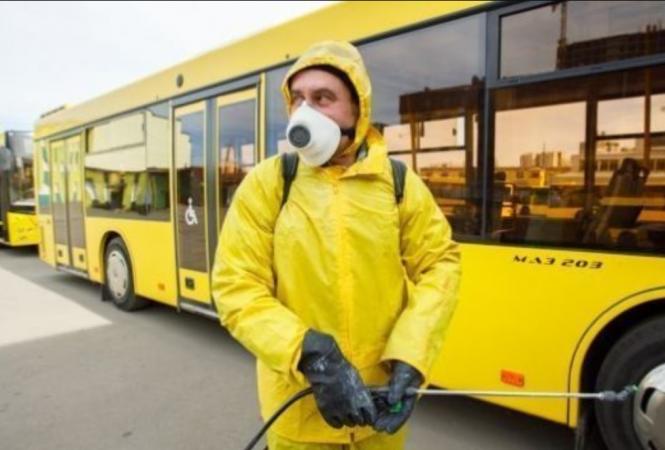 """В """"красной"""" зоне карантина запретили работу общественного транспорта"""