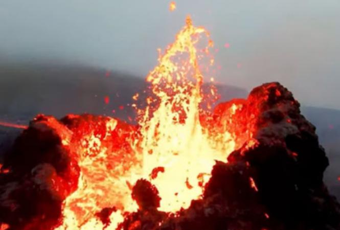 вулкан Фаградалсфьяль