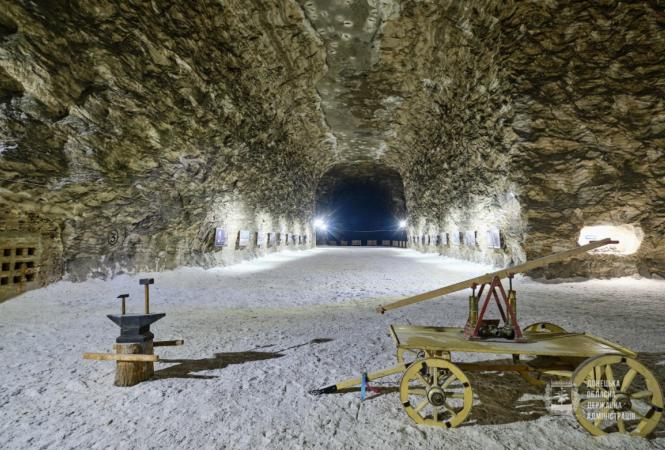 В старейшей соляной шахте Донбасса откроют новый туристический маршрут