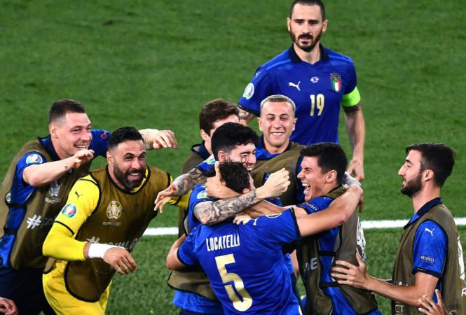 Сборная Италии стала первым участником плей-офф