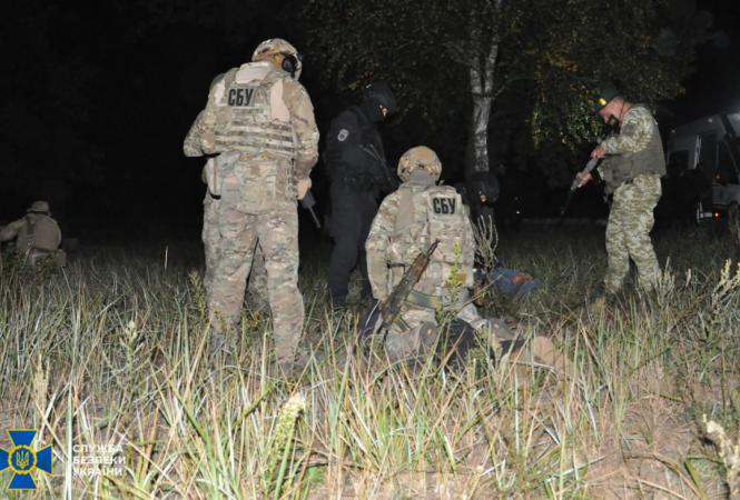 СБУ провела учения возле северной границы Украины