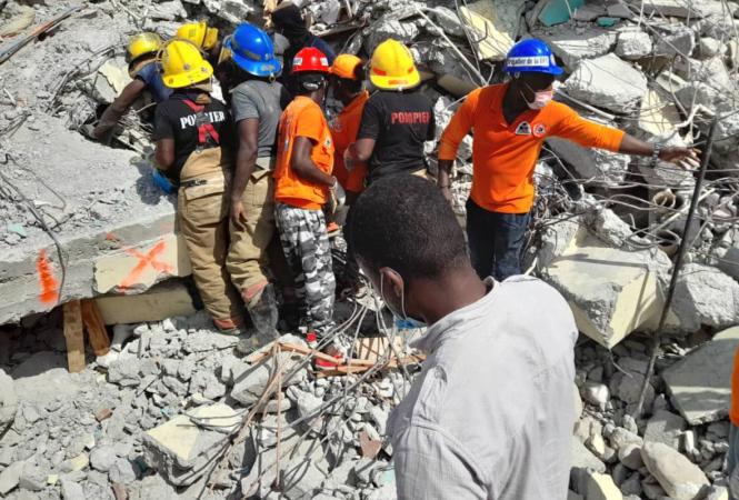 Гаити, землетрясение