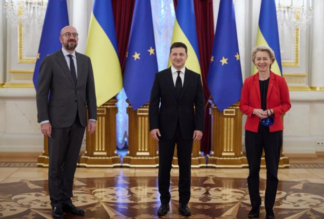 В Киеве стартовал саммит Украина - ЕС