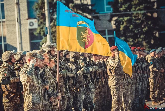 В Северодонецке провели репетицию военного парада / фото Алексей Ковалев, Facebook
