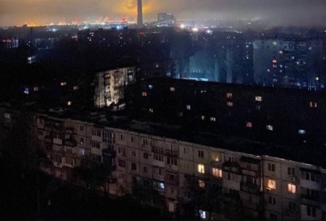 Запорожская, ТЭС, авария