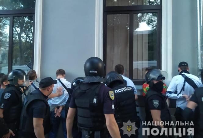 Одесса, полиция