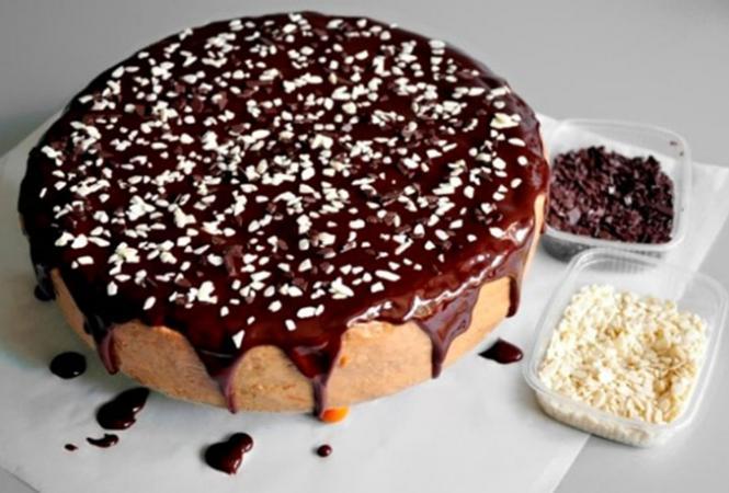 Торт после приготовления