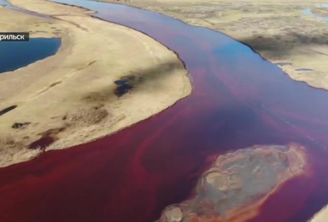 разлив нефти в Норильске