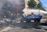 Берлин, полиция, столкновение