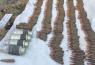 На Луганщинеобнаружен схрон с боеприпасами
