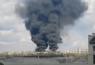 В Рубежном пожар на территории воинской части:вспыхнул бензовоз ВСУ